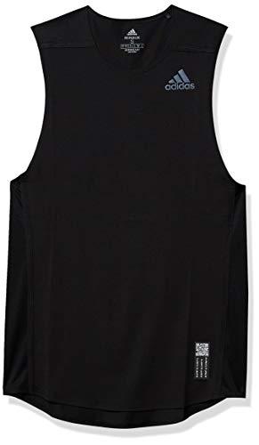 adidas Primeblue Singlet M de una Pieza para Hombre, Hombre, 1 Pieza, GNX11, Negro, L