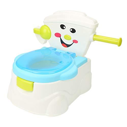 GOTOTOP Asiento de Inodoro para Ninos Ninas, Inodoro de Entrenamiento para bebé con Soporte de Tejido, WC con Tapa para Infantil