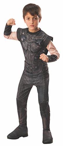 Avengers - Disfraz de Thor oficial Infinity Wars para niños, infantil 5-7 años (Rubie