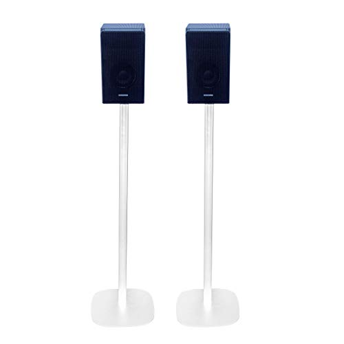Vebos Soporte de Pie para Samsung HW-Q950T Blanco Pareja Experiencia óptima en Cada habitación - Le Permite Colocar su Samsung HW-Q950T exactamente Donde lo desee
