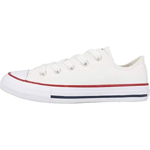 Converse Chuck Taylor All Star, Zapatillas de Lona Infantil, Blanco (Optical-White), 34 EU (2 UK)
