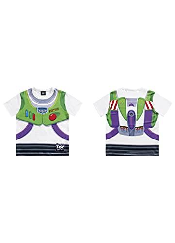 Camiseta Toy Story, Meninos, Fakini, Branco, 3
