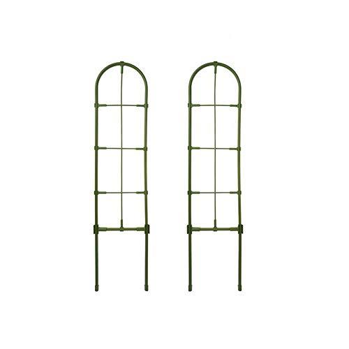 Thrivinger 60–75 cm extra bred trädgårdsspaljé, gotisk trädgård växtstöd spaljé rosteffekt – klätterblomma vägg ram stor hög spaljé, trädgård klättring stöd, 2 st