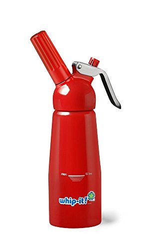 Whip-it! 1/4 L Pro Plus All Aluminum, Red