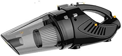 Chilequano Aspirador, Mojado y seco Fuerte aspiradora Cyclone Succión Ligero Ligero Cuatro en uno Casón de vacío Coche Multifunción Multifunción Alta Potencia (Negro)