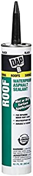 DAP 18268 Roof Waterproof Asphalt Filler & Sealant 10.1 Oz