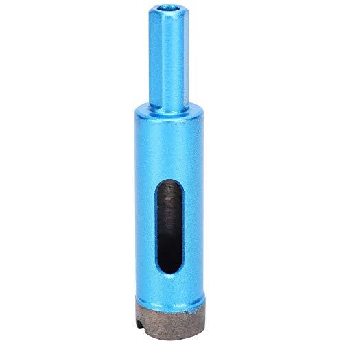 Kuuleyn - Juego de sierra de diamante de 0,7 pulgadas, juego de 5 brocas de diamante para sierra de agujero, taladro de sierra de perforación para mármol, hormigón, piedra artificial