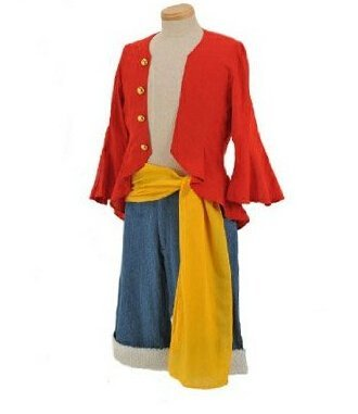 Anime japonais One Piece Monkey D. Luffy Cosplay Costume - 2 ans plus tard Monkey D. Luffy Costume,taille L :(166-172cm,60-70 kg) by sportsgao