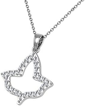 Ivy Leaf Necklace Silver P014 product image