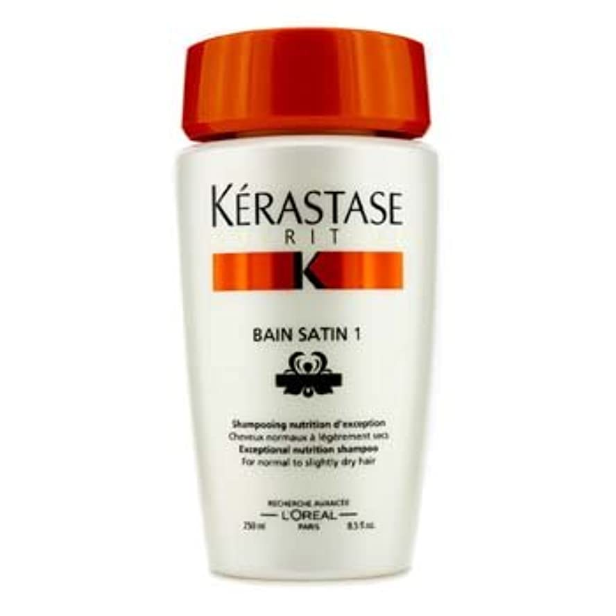 消防士バーター動機付ける[Kerastase] Nutritive Bain Satin 1 Exceptional Nutrition Shampoo (For Normal to Slightly Dry Hair) 250ml/8.5oz