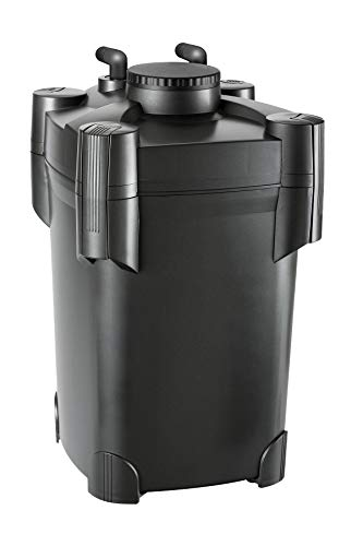 Pondmaster 5430 Danner Manufacturing Compact 1000 Gallon Small to Medium Po Pressurized Pond Filter, Black