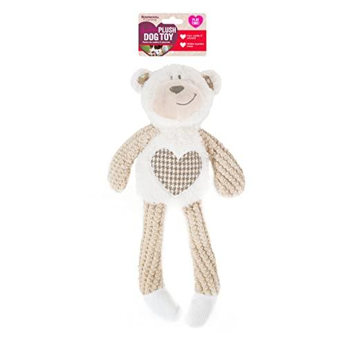 Rosewood 39149 Benjamin Bär Plüsch-Spielzeug für Hunde, braun, 40cm