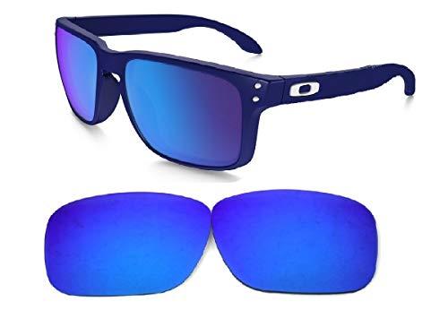 Galaxy Lentes de Repuesto para Oakley Holbrook Color Azul Polarizado, Azul, Estándar
