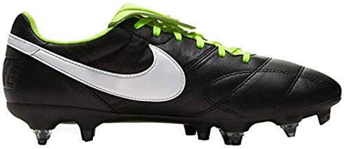 Nike The Premier II SG-PRO AC, Scarpe da Calcetto Indoor Unisex-Adulto, Multicolore Black White Volt 017, 42 EU