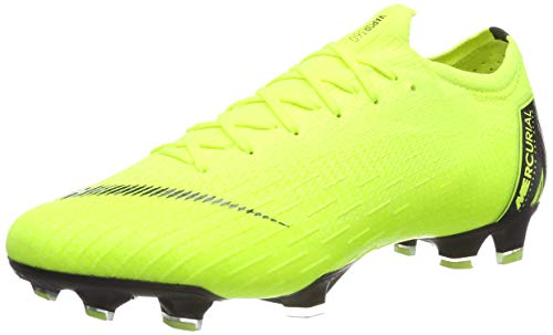 Nike Unisex-Erwachsene Vapor 12 Elite Fg Fußballschuhe, Grün (Volt/Black 701), 47.5 EU