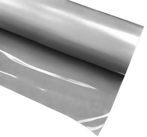 VVIVID+ Silver Premium Line Heat Transfer Vinyl Film for Cricut, Silhouette & Cameo (12 x 36 (3ft))
