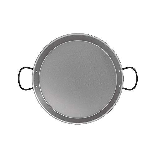 Metaltex Paella-Pfanne, 30 cm, poliert, Induktion, 4 Portionen, 30 cm, Stahl