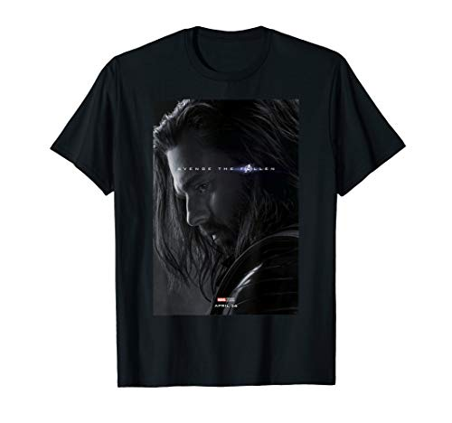 Marvel Avengers: Endgame Winter Soldier Avenge The Fallen T-Shirt