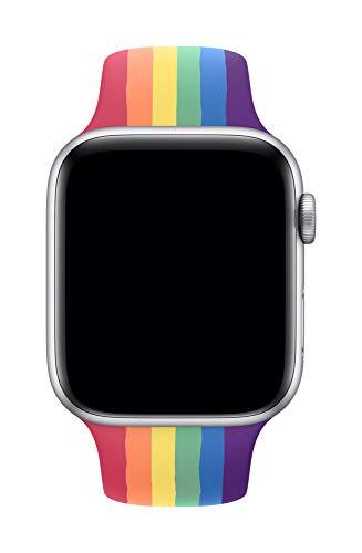 Apple Watch (44mm) Sportarmband, Pride Edition - Regular