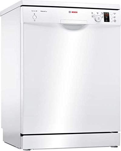Bosch SMS25EW00G Serie 2 Freestanding Dishwasher, 13 place settings, 60cm...