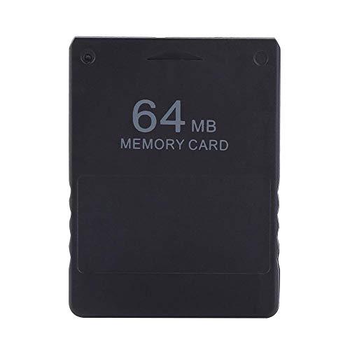 PS2 Memorie Card - SD Card Professionale Economico ad Alta velocità della Scheda di Memoria Compatibile con Sony Playstation 2 PS2 Giochi Accessori (4 Dimensioni) (Taglia : M)