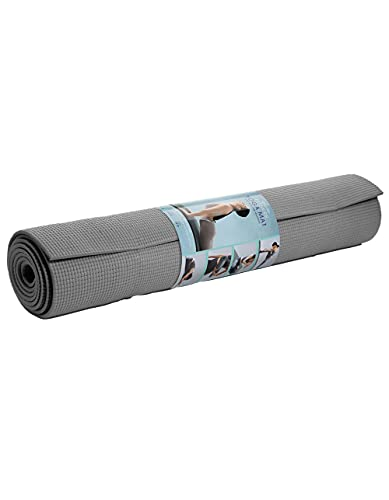 best yoga mat for 2021 Lomi Fitness Yoga Mat with Slip-Free Material, Great for at Home or Gym Workouts, Yoga, Pilates and More, 8mm, 61cm x 173cm
