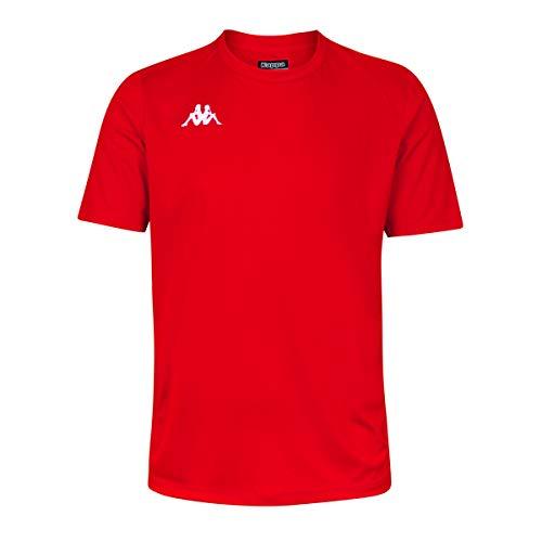 Kappa ROVIGO SS Camiseta de equipación, Hombre, Rojo/Blanco, 4XL