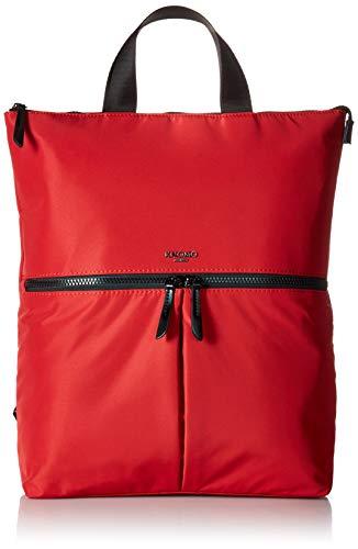 Knomo Women's Reykjavik Lightweight Totepack 15' Business Backpack, Poppy Red, 40 cm