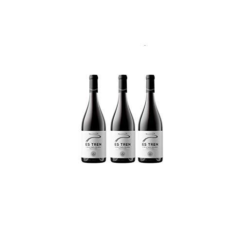 Es Tren Die mallorquinische Kunst des Weins Rotwein Wein trocken Mallorca Wein Spanien (3 Flaschen)