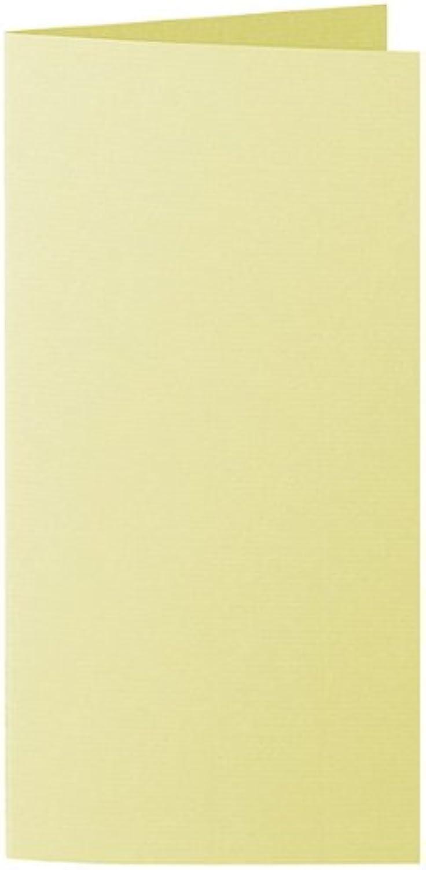 50 Stück    Artoz Serie 1001 Doppelkarten gerippt    Hochdoppelt    DIN E6, 250 x 180mm, hochwertig, gelb B002JJAYN8   | Deutschland München