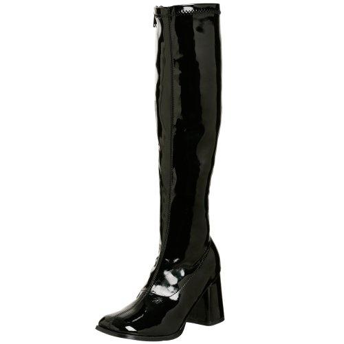 Pleaser Gogo300/b, Damen Stiefel, Schwarz (Black), 35 EU