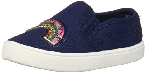 Carter's Girl's Tween10 Slip-on Shoe, Navy, 6 M US Toddler
