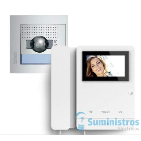 Kit Videoportero2 hilos Tegui Sfera New Serie 8 378111