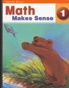 Math Makes Sense Grade 1 - Student Edition (black and white consumable)