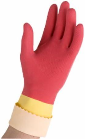 1 Paar maximaler Schutz f/ür die schwere Arbeiten und Innenfutter Schwei/ß L Vileda Handschuhe Protection