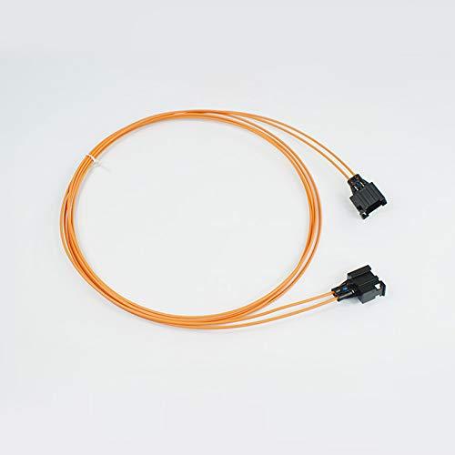 wroadavee Câble de fibre optique femelle vers femelle de 100 cm.