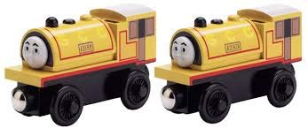 Bill & Ben Wooden Train - Learning Curve Thomas and Friends Wooden Railway LC99025