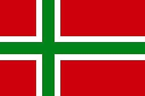 U24 drapeau de bornholm bottesflagge premium 150 x 250 cm