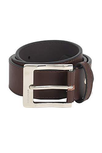 Peter England Men's Poly Viscose Belt (RL31994068_Multicolor_Medium)