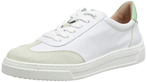 Unisa Damen Felis_NF_PA Sneaker, Weiß (White/Mint White/Mint), 36 EU