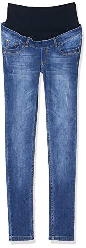 Bellybutton Damen Umstandsmode Hose B11326-50000 Maya slim leg,Blau (Denim 50000),44