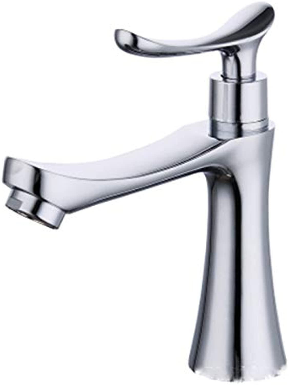 JYL Single-handle Touch Kitchen Sink Faucet Alloy Basin Faucet Countertop Basin Basin Alloy Single Cold Faucet Single Hole Faucet