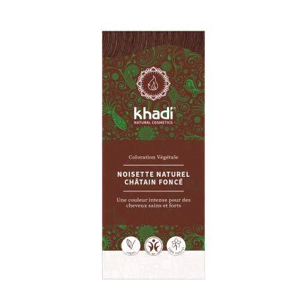 Khadi Teinture aux Plantes Noisette Naturel 100 g