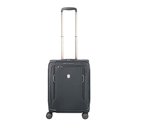 Victorinox Werks Traveler 6.0 Global Carry-on - Maleta de cabina (4 ruedas, 55 cm, ampliable), gris (Gris) - 605404