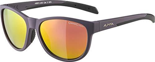 Alpina Unisex– Erwachsene NACAN II Sonnenbrille, nightshade matt-black, one Size