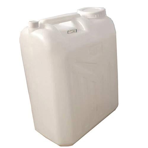 25L Contenedor De Agua De Plástico Grueso De Grado Alimenticio Para Acampar, Botella Portadora De Agua Apilable Portátil Para Almacenamiento De Agua De Emergencia, Cantin(Color:11cm,Size:Espesar)
