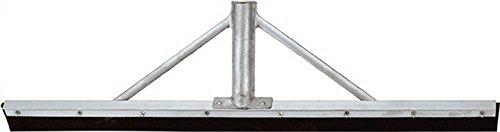 Idealspaten Sieger Alu-Gummiwischer, Silber, 60 cm 34 mm
