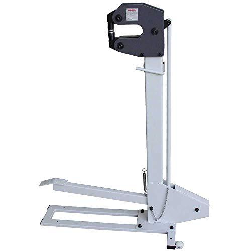 Kaka Industrial FSM-16 Metal Shrinker Stretcher, Manual Metal Forming Shrinker Stretcher With Foot Pedal, 6' Throat Depth, 16 Gauge Mild Steel Capacity