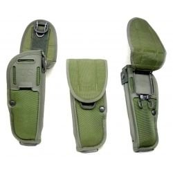 Military Surplus M12 Universal Hip Holster 9Mm And .45, OD Green, UM921H