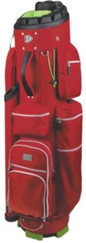 2016 Bennington Quiet Organizer 9 Trolley Bag  Red